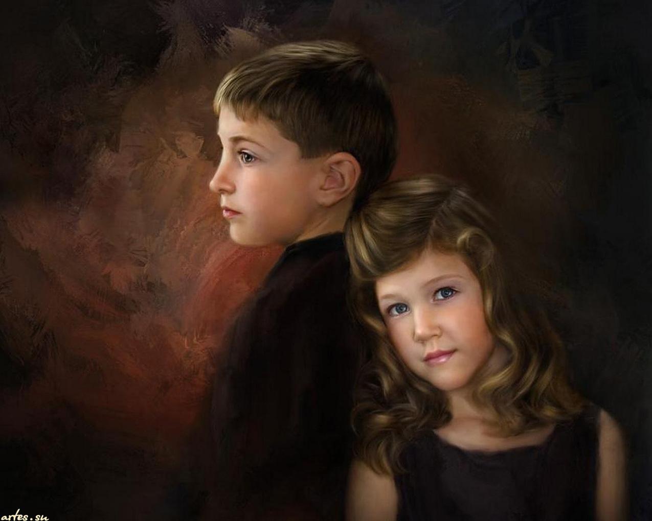 Старша сестра с братом 9 фотография