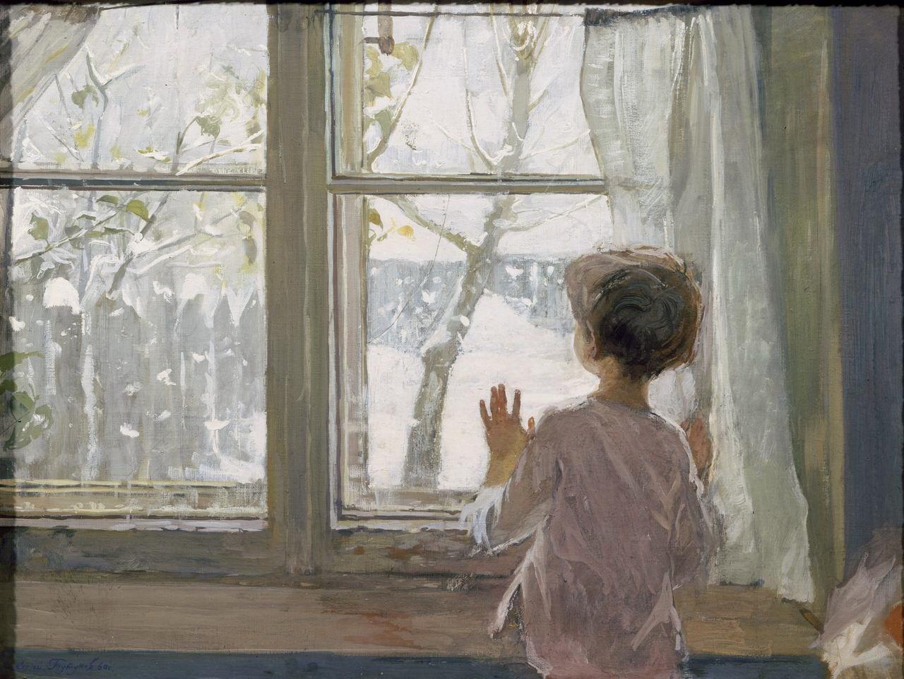 Сочинение миниaтюрa нa тему я смотрю в окно